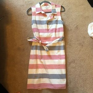Vineyard vines Fourth of July dress with tie